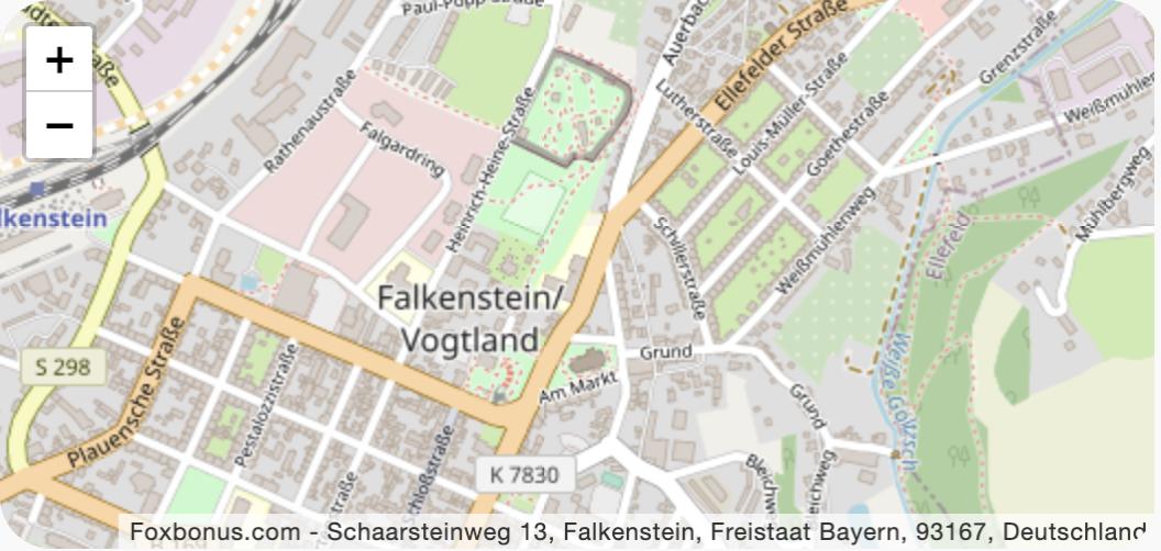 Schaarsteinweg 13, Falkenstein, Freistaat Bayern, 93167, Deutschland