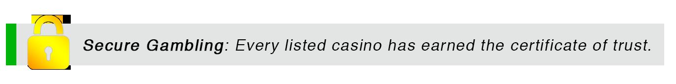 secure gambling lock
