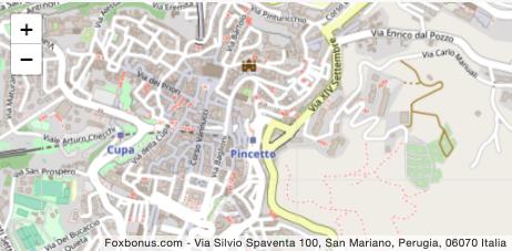 Via Silvio Spaventa 100, San Mariano, Perugia, 06070 Italia